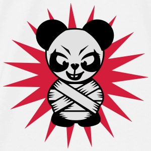 Panda bear with a straitjacket Accessories - Men's Premium T-Shirt