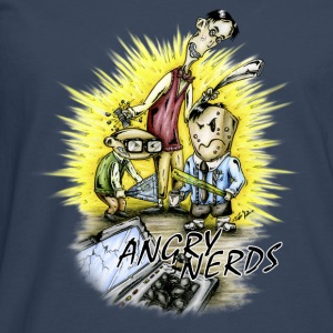 angry_nerds Tee shirts - T-shirt manches longues Premium Homme