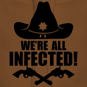 We are all infected T-shirts - Vrouwen Premium hoodie