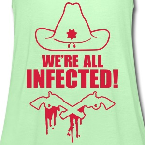 We are all infected T-shirts - Vrouwen tank top van Bella