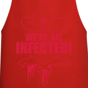 We are all infected T-shirts - Keukenschort