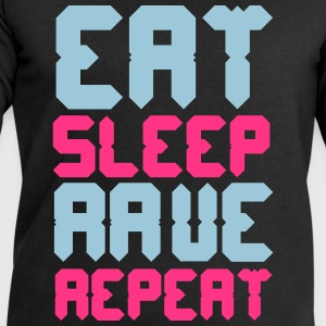 Eat Sleep Rave Repeat T-Shirts - Men's Sweatshirt by Stanley & Stella