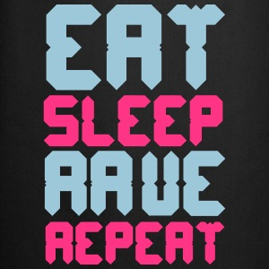Eat Sleep Rave Repeat T-Shirts - Cooking Apron