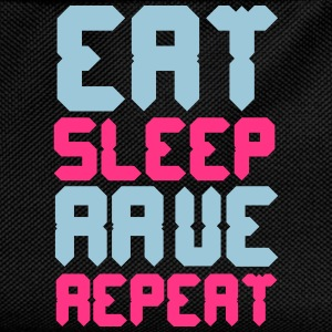Eat Sleep Rave Repeat T-Shirts - Kids' Backpack