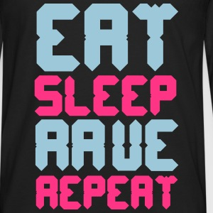 Eat Sleep Rave Repeat Tee shirts - T-shirt manches longues Premium Homme