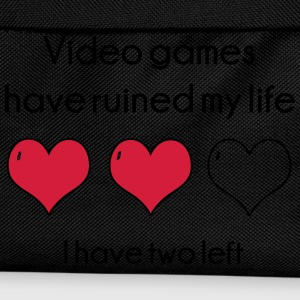 Video Games have ruined my life Hoodies - Kids' Backpack