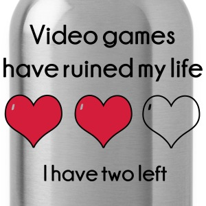 Video Games have ruined my life Hoodies - Water Bottle