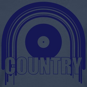 Country Music T-skjorter - Premium langermet T-skjorte for menn