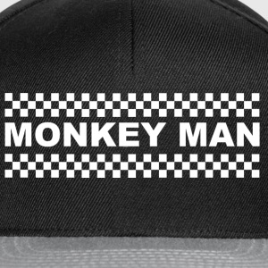 Monkey Man T-Shirts - Snapback Cap