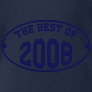 The best of 2008 T-shirts - Ekologisk kortärmad babybody