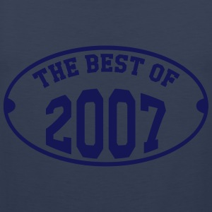 The best of 2007 T-shirts - Mannen Premium tank top