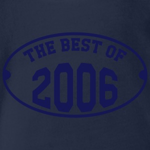 The best of 2006 T-shirts - Ekologisk kortärmad babybody