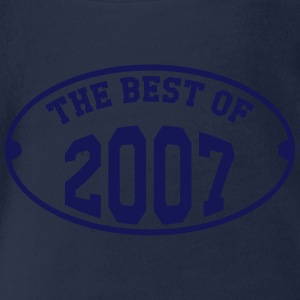 The best of 2007 Tee shirts - Body bébé bio manches courtes