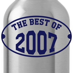 The best of 2007 T-Shirts - Trinkflasche