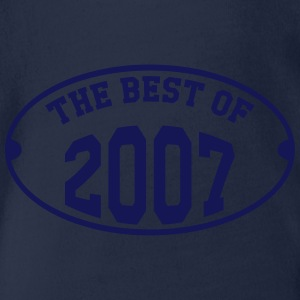 The best of 2007 T-shirts - Ekologisk kortärmad babybody