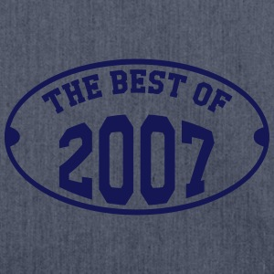 The best of 2007 T-Shirts - Schultertasche aus Recycling-Material