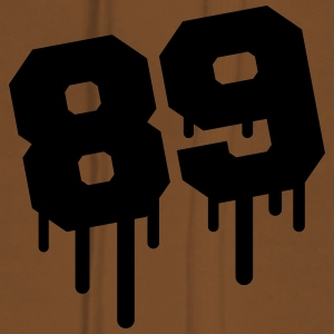 Number 89 Graffiti T-Shirts - Women's Premium Hoodie