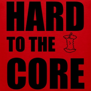 Hard To The Core T-shirts - Premiumtanktopp herr