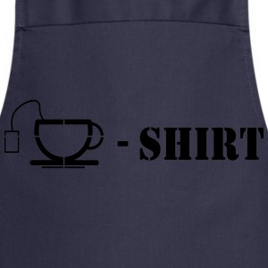 Tea Shirt Camisetas - Delantal de cocina