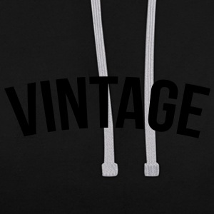 Vintage - Sweat-shirt contraste