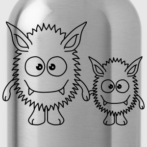 Monster Family T-Shirts - Water Bottle