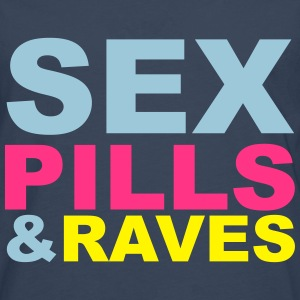 Sex Pills Raves T-Shirts - Men's Premium Longsleeve Shirt