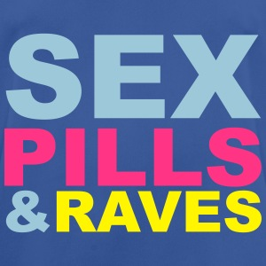 Sex Pills Raves Hoodies & Sweatshirts - Men's Breathable T-Shirt
