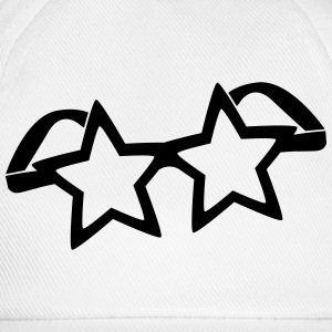 Stars glasses  T-Shirts - Baseball Cap