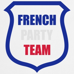French Party Team Tee shirts - Tablier de cuisine