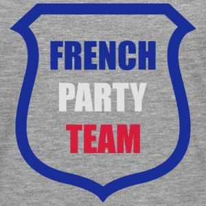 French Party Team Skjorter - Premium langermet T-skjorte for menn