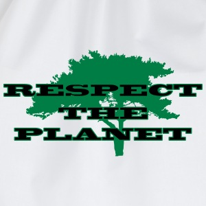 Respect the Planet T-Shirts - Turnbeutel