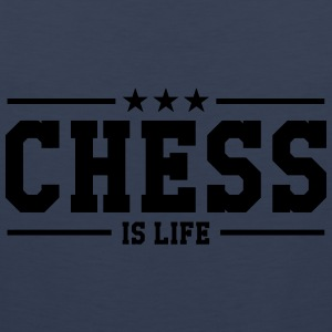 Chess is life Shirts - Mannen Premium tank top
