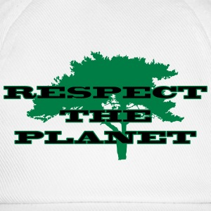 Respect the Planet T-shirts - Basebollkeps