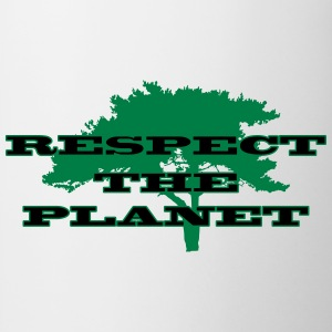 Respect the Planet Camisetas - Taza