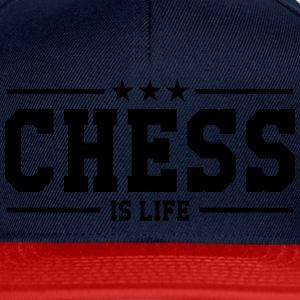 Chess is life T-skjorter - Snapback-caps