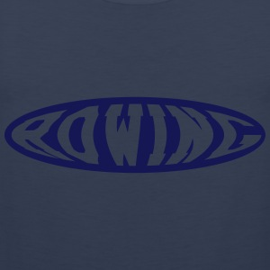 Rowing T-shirts - Mannen Premium tank top
