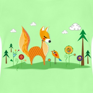 A fox and a bird  Bags & backpacks - Baby T-Shirt