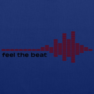 feel the beat Magliette - Borsa di stoffa