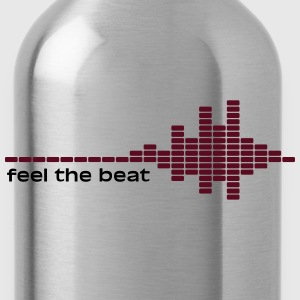 feel the beat T-shirts - Drinkfles
