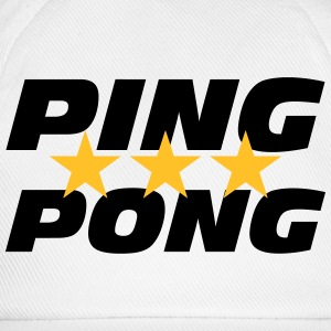 Ping Pong Tee shirts - Casquette classique