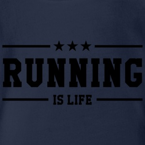 Running is life ! Tee shirts - Body bébé bio manches courtes