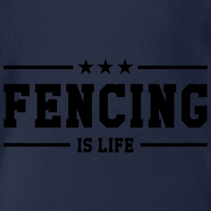 Fencing is life Tee shirts - Body bébé bio manches courtes