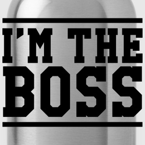 I'm the Boss T-shirts - Vattenflaska