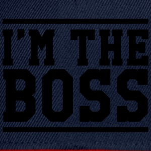I'm the Boss T-Shirts - Snapback Cap