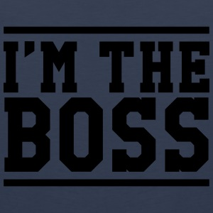 I'm the Boss T-Shirts - Men's Premium Tank Top