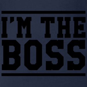 I'm the Boss Shirts - Organic Short-sleeved Baby Bodysuit