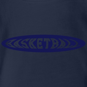 Basketball T-Shirts - Baby Bio-Kurzarm-Body