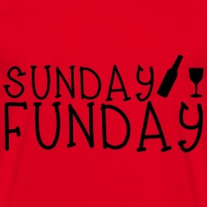 Sunday Funday Hoodies & Sweatshirts - Men's T-Shirt