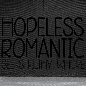 Hopeless Romantic T-shirts - Snapback Cap