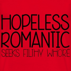 Hopeless Romantic Sweatshirts - Herre-T-shirt